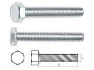 Болт М6х12 мм шестигр., кл.пр. 4.8, DIN 933 300шт STARFIX (SMC1-13465-300)