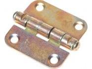 Петля 40мм универсальная желтый цинк Starfix (SMP-65827-1)