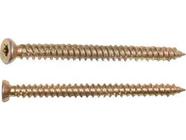 Шуруп по бетону 7.5х132 мм желтый цинк, T30 (70 шт в карт. уп.) Starfix (SMC3-99175-70)