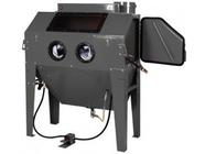 Пескоструйная камера с электродвигателем для очистки воздуха 420л Rock Force RF-SBC420
