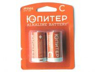 Батарейка C LR14 1.5V alkaline 2шт. Юпитер (JP2103)