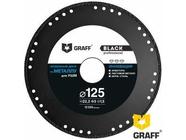 Диск отрезной алмазный по металлу 125x1.5мм Graff Black для болгарки (black125)