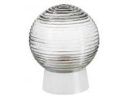 Светильник шар стекло/белый/прямой 60Вт IP20 (НБП 01-60-004) Юпитер (JP1309-06)