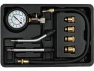 Компрессометр для бензиновых двигателей 8пр Yato YT-73022