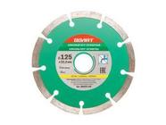 Алмазный круг 125х22 мм универс. сегмент. Волат (сухая резка) (89010-125)