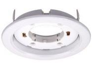 Светильник встраиваемый светодиодный PGX53 15Вт глянцевый белый Jazzway (1016744)