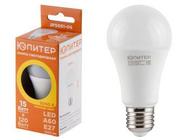 Лампа светодиодная A60 СТАНДАРТ 15 Вт 170-240В E27 3000К ЮПИТЕР (120 Вт аналог лампы накал., 1200Лм, теплый белый свет) (JP5081-09)