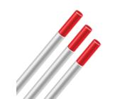Электрод вольфрамовый WT20 1.0х175мм красный для нерж. стали Kirk K-162961 (упак/10шт)