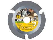 Пильный диск по дереву 125 мм для болгарки с ограничением подачи Graff Speedcutter