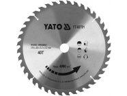 Диск пильный с напаянными зубцами из твердых сплавов 315х30х40T Yato YT-60791
