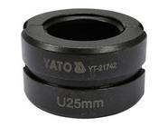 Обжимная головка тип U 25мм для YT-21735