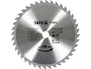 Диск пильный с напаянными зубцами из твердых сплавов 300х30х3,2 40T Yato YT-6076