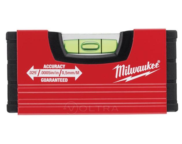 Уровень 10см Milwaukee Minibox (4932459100)