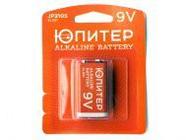 Батарейка 6LR61 9V alkaline 1шт. Юпитер (крона) (JP2105)