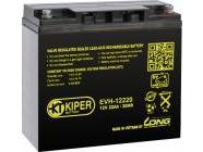 Аккумуляторная батарея Kiper 12V/22Ah (EVH-12220)