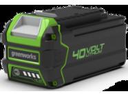 Аккумулятор 40В 4Ач GreenWorks G40B4 (2927007)