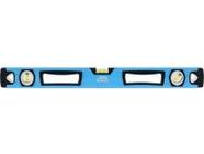 Уровень алюминиевый двуручный 1000мм ударопрочные заглушки Барс (34354)