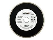 Круг алмазный 180x25,4мм (сплошной) Yato YT-6016