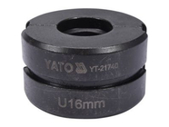 Обжимная головка тип U 16мм для YT-21735