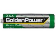 Элемент питания 1.5V AAA/R03 Golden Power Heavy Duty 4SH