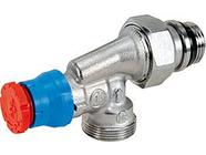 Угловой осевой термостатический клапан 1/2 Giacomini R415X033