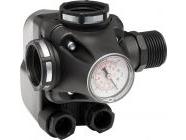 Реле давления со встроенным манометром Italtecnica РМ/5-3W