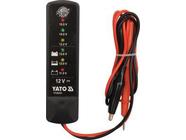 Цифровой тестер аккумуляторов 12V Yato YT-83101