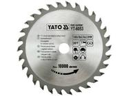 Диск пильный с напаянными зубцами из твердых сплавов 140х16х2,8 30T Yato YT-6053