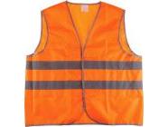 """Жилет сигнальный р-р 56-58 рост 170-176 ткань """"Оксфорд"""" (оранжевый)"""