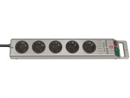 Удлинитель 2.5м (5 роз., 3.3кВт, с/з, выкл., ПВС) Brennenstuhl Super-Solid-Line (1153340115)