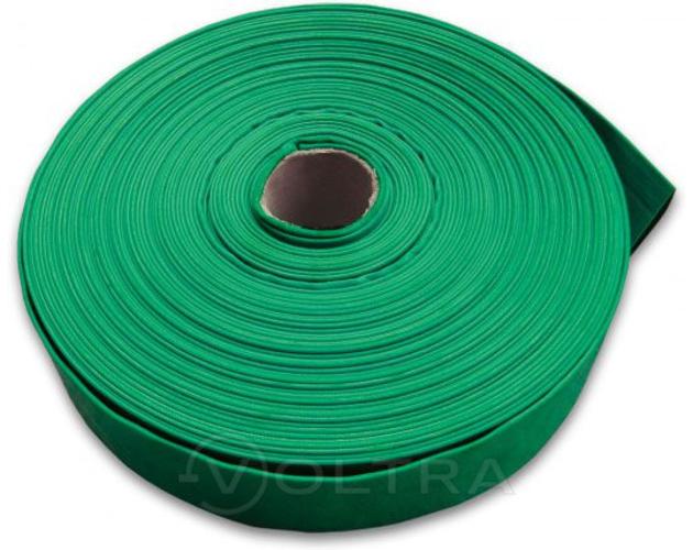 "Шланг-рукав плоский 2"" (50мм) Greenpump, кусок 50м (зеленый)"