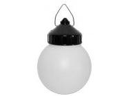 Светильник шар пластик/черный 60Вт IP44 (НСП 01-60-003) Юпитер (JP1309-02)