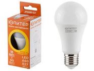 Лампа светодиодная A60 СТАНДАРТ 11 Вт 170-240В E27 3000К ЮПИТЕР (90 Вт аналог лампы накал., 960Лм, теплый белый свет) (JP5081-07)