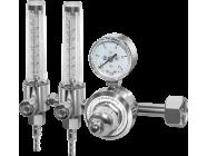 Регулятор расхода газа универсальный c  двумя ротаметрами Сварог У-30/АР-40-Р-2 (1C008-0105-AR/CO2)