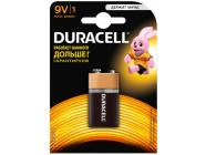 Элемент питания 9V Крона/6LR61 Duracell 1BP