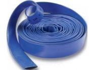 "Шланг-рукав плоский 1"" (25мм) Gardana, погонный метр (синий или зеленый)"
