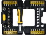 Набор инструмента отвёртки + головки и биты 38пр. Vorel 65023