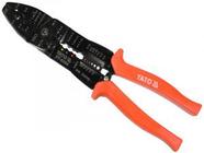 Клещи для резки, зачистки и обжима проводов 250мм Yato YT-2254