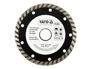 Круг алмазный 125x22,2мм (турбо) Yato YT-6023