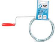 Трос сантехнический пружинный диаметр 6мм длина 2.5м AV Engineering (AVE34006025)