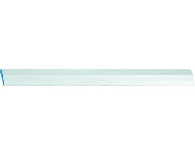 Правило алюминиевое Трапеция 1 ребро жесткости 1м Сибртех (89607)