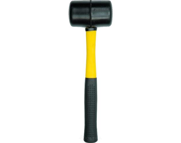 Молоток резиновый с фиберглассовой ручкой Vorel 33655