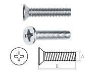 Винт М6х30 мм потай. головка, цинк, кл.пр. 4.8, DIN 965 (10 шт в зип-локе) STARFIX (SMZ1-48836-10)