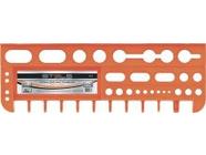 Полка для инструмента 475мм оранжевая Stels (90718)