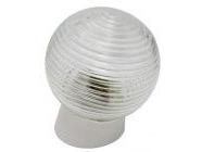 Светильник шар стекло/белый/наклонный 60Вт IP20 (НБП 01-60-004) Юпитер (JP1309-05)