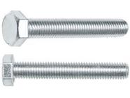 Болт М20х100 мм шестигр., цинк, кл.пр. 5.8, DIN 933 (20 кг.) Starfix (SM-27553-20)