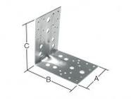 Уголок крепежный усиленный 90х105x105 мм KUU 2.5 мм STARFIX (SMP-47311-1)