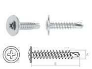 Саморез 4.2х16 мм с прессшайбой, цинк, со сверлом (1000 шт в карт. уп.) STARFIX (SMC2-50342-1000)
