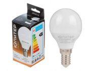 Лампа светодиодная G45 Шар 7.5Вт 170-240В E14 4000К Юпитер Люкс (JP5145-42)