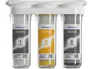 Трехступенчатая система очистки воды Аквабрайт АБФ-Триа-Умягчение